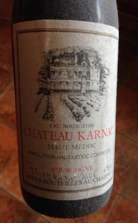 Hemtrampat vin från september 2006