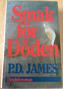 PD James bok Smak för döden