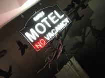 Inga lediga rum på Bates Motel...