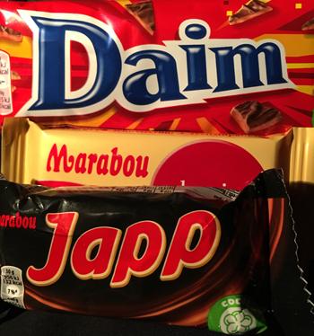 Daim Marabou Japp choklad
