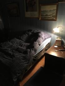 Gästsängen i sovrummet