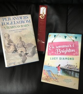 Böckerna Vävarnas barn och En sommar i Brighton