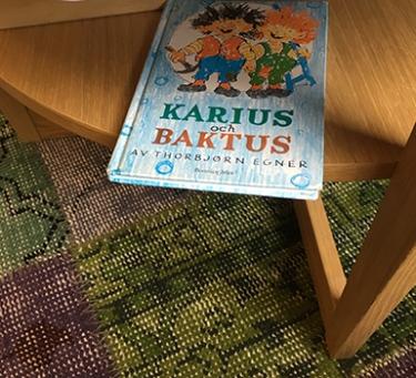 Thorbjörn Egners bok Karius och Baktus
