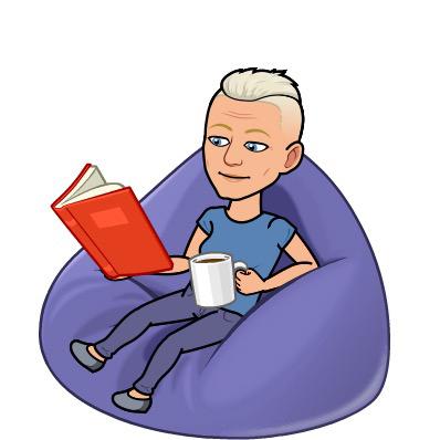 Bitmoji Tofflan läser