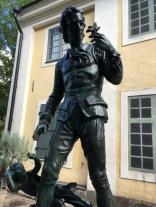 Carl von Linné Carl Eldhs staty