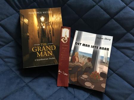Böckerna The Grand man och Det man inte anar