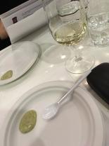 Första vinet att prova samt dip