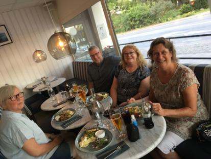 Middag på Sjöglimten med Anna Anders Maria och FEM
