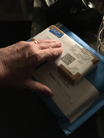 Två paket